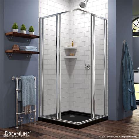 Shower Enclosure With Base Cornerview Shower Enclosure Shower Base Kit Dreamline