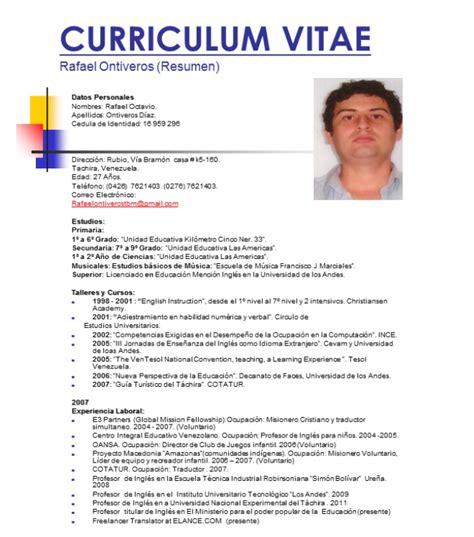 Modelo Curriculum Dominicano noticias en monitor claves para encontrar trabajo c 243 mo armar un buen cv urgente24