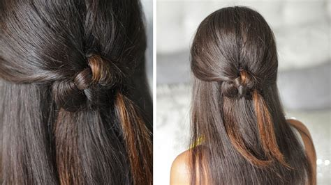 knotted half up half down hairstyles celtic heart knot half up half down organic hairstyle
