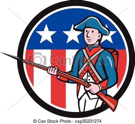 illustrations vectorisées de américain, révolutionnaire