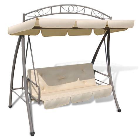 sedia letto altalena sedia letto a baldacchino modellato arco bianco