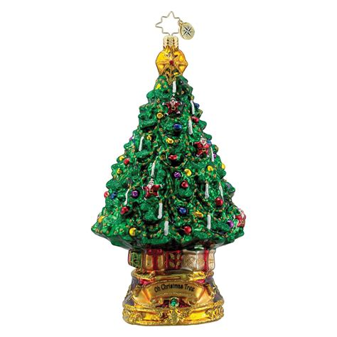 christopher radko o christmas tree ornament bloomingdale s