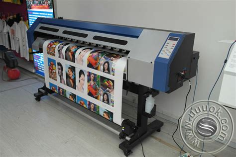 printable vinyl machine 1 6m eco solvent printing machine to print vinyl stickers