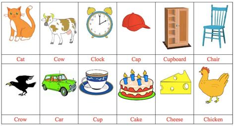 Three Letter Words With C 3 Letter Word Tracing Pre