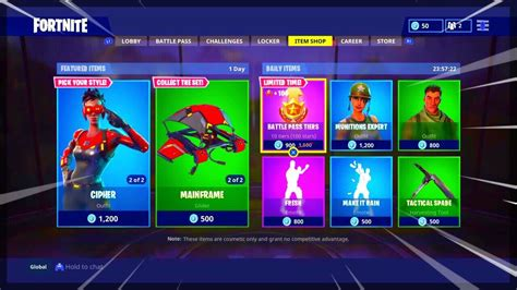 fortnite item shop april 12 2018 new featured items and