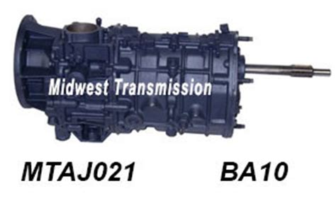 jeep ba10 1987 and 1989 5 speed manual transmission parts
