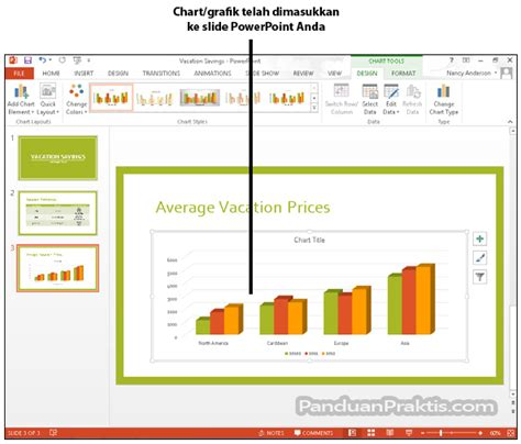 cara membuat shortcut power point ke desktop cara membuat grafik chart di powerpoint 2013
