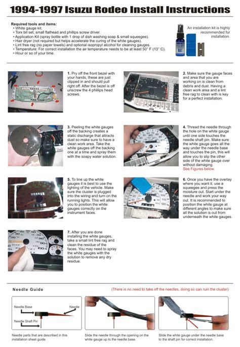 manual repair autos 1997 kia sephia instrument cluster instruction for a 1997 kia sephia instrument cluster how to open 2001 2006 kia optima