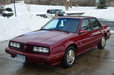 rare rides this pontiac from 1990 has awd and 6000 buttons 1989 pontiac 6000ste awd a unicorn s unicorn