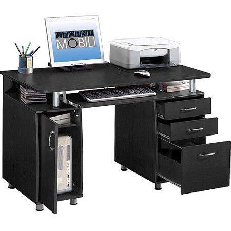 lade per scrivanie techni mobili storage computer desk espresso