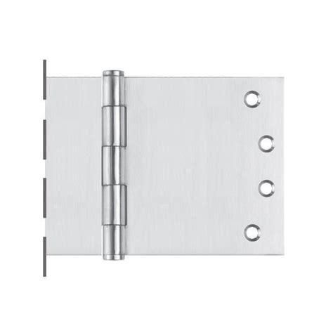 wide swing door hinges 100x225 fixed pin wide throw button tip hinge