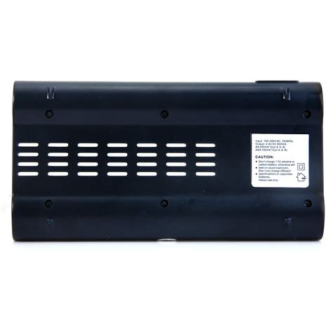 battery charger 8 slot for aa aaa nicd nimh c808w white jakartanotebook