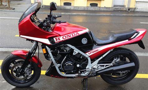 Honda Motorrad 4 Jahre Garantie by Motorrad Occasion Kaufen Honda Vf 1000 F Cahenzli Motos Z 252 Rich