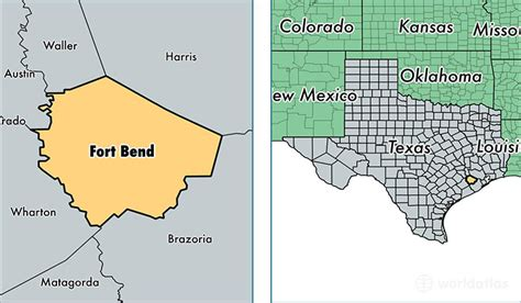 map of fort bend county fort bend county map of fort bend county tx