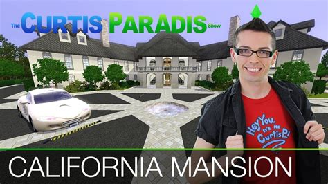 The Sims 3   Building a California Mansion   YouTube