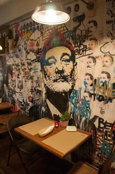 wall murals  restaurants   world