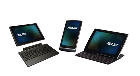 asus android tablet asus unveils a trio of android tablets android central