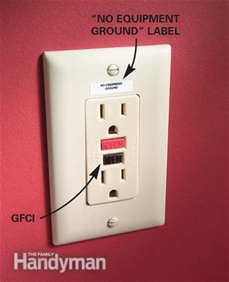 replacing electrical outlet the family handyman