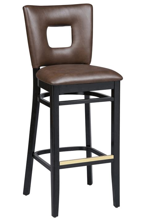 commercial bar stools with backs regal seating series 2426 wooden commercial counter height