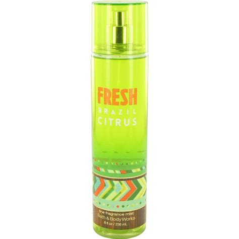 best scent for bathroom fresh brazil citrus perfume for women by bath body works