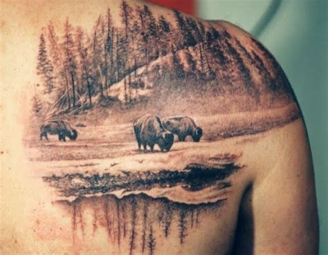 buffalo tattoo designs amazing buffalo tattoos henna painting