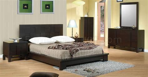 modern bedroom furniture chicago chicago contemporary bedroom w dark cappuccino finish