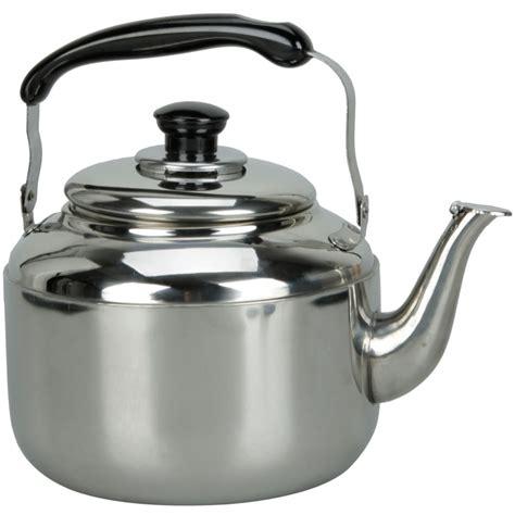 stainless steel kettle new stainless steel whistling tea kettle 3 liter silver ebay