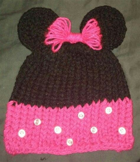 loom knit minnie mouse hat 198 best images about loom knit on knitting