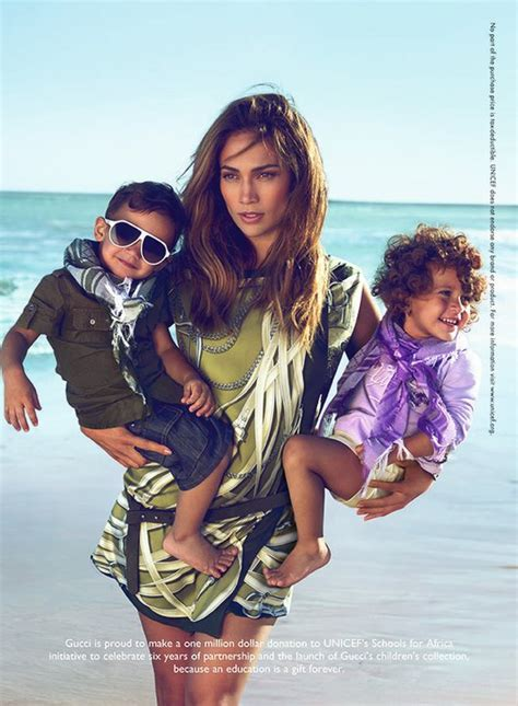 jennifer lopez s foundation helps women and kids variety photos j lo twins in new gucci ad caign eurweb