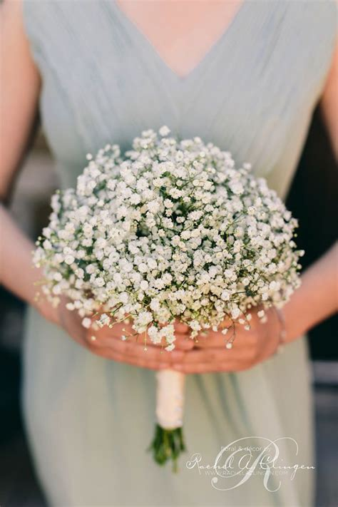Wedding Bouquet Baby S Breath wedding flowers 40 ideas to use baby s breath
