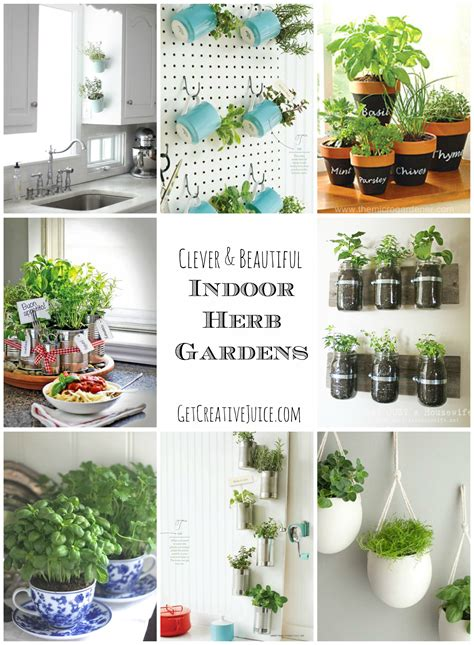 Indoor Kitchen Garden Ideas | indoor herb garden ideas creative juice