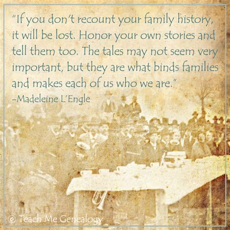 Family History by Family History Quotes On Genealogy Quotes