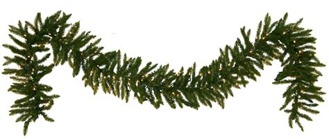 l post garland with lights garland spruce prelit led garland warm