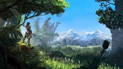 Horizon Zero Dawn 2016 Game Wallpapers | HD Wallpapers ... Games Wallpaper Hd