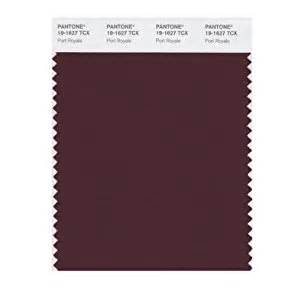 color port pantone smart 19 1627x color swatch card port royale