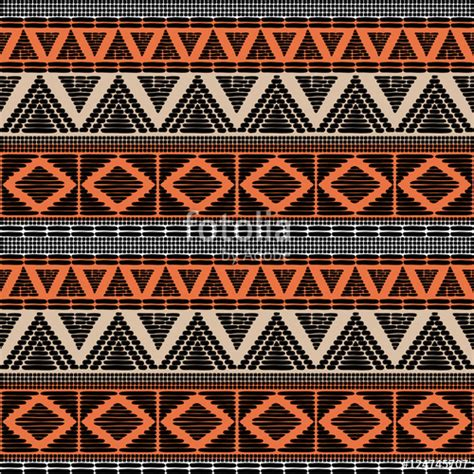 africa vector traditional background pattern quot tribal pattern vector seamless african print with in