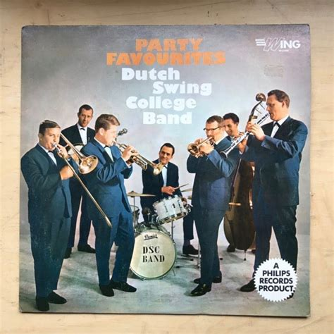 dutch swing college dutch swing college band party favourites lp late 1960 s