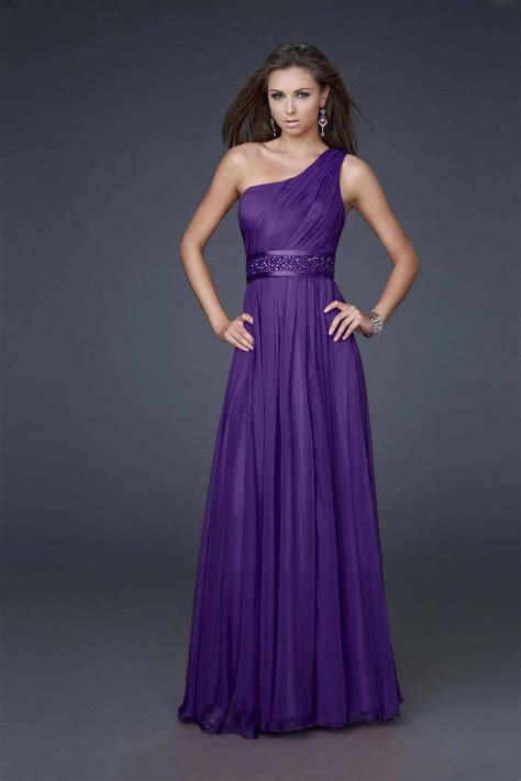 one shoulder prom dresses dressed up