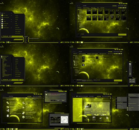 theme line windows windows 7 theme yellow line by tono3022 on deviantart