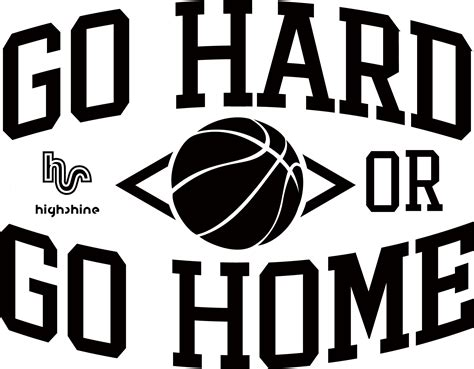 t shirt basketball logo quot go or go home