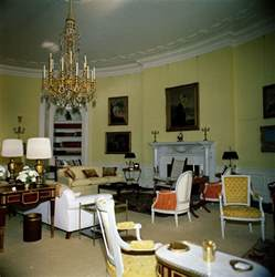 Yellow Oval Office by Kn C19844 Yellow Oval Room White House John F Kennedy