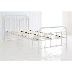 vintage white metal bed frame 1000 ideas about metal bed frames on bed