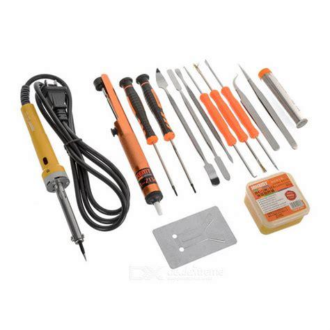 Jakemy Primary Diy Welding Soldering Iron Kit Jm P04 jakemy jm p03 primary electric 30w diy welding soldering tool set free shipping dealextreme