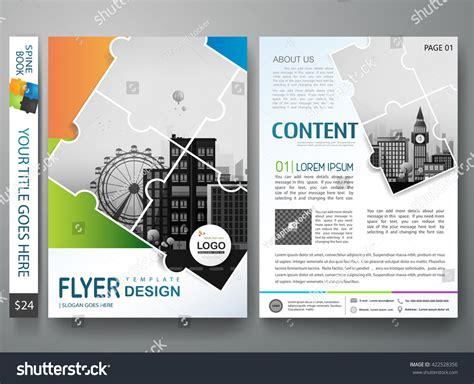 magazine leaflet design brochure design template vector flyers annual stock vector