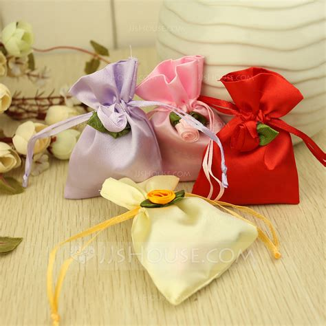 Bag A Bargain With This Flower Set by Favor Bags With Flowers Set Of 12 050064937 Favor
