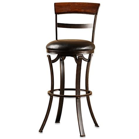 26 Inch Bar Stool Buy Hillsdale Kennedy 26 Inch Swivel Counter Stool From Bed Bath Beyond