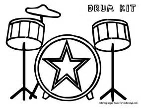 musical instruments coloring pages majestic musical drums coloring drums free