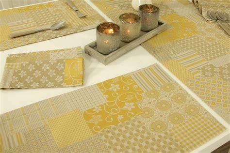 Runde Tischdecken Landhausstil by Landhaus Tischset Rustikal Beige Gold Gr 246 223 E 32x42 Cm