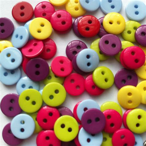 Acrylic Sewing Buttons Scrapbooking 2 Holes 9mm B10472 Kancing 50 mini buttons 9mm small button tiny amigurumi button plastic acrylic resin embellishments