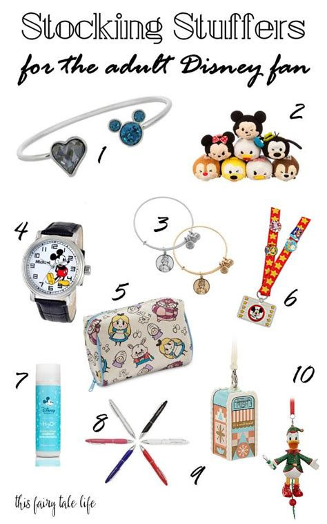stocking stuffers for adults disney stocking stuffer gifts for adults inspired by dis